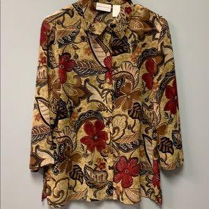 Fabulous Alfred Dunner Women's Blouse Size 10